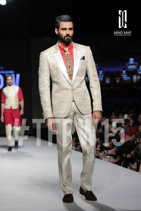 Fashion Dress Designer Aamir Adnan Stylish Wedding Groom Suits Pent-Coat-Kurta-Sherwani for Men by TFPW-1