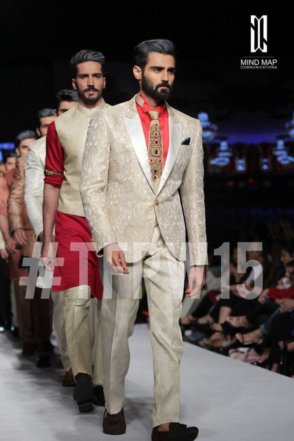 Fashion Dress Designer Aamir Adnan Stylish Wedding Groom Suits Pent-Coat-Kurta-Sherwani for Men by TFPW-2