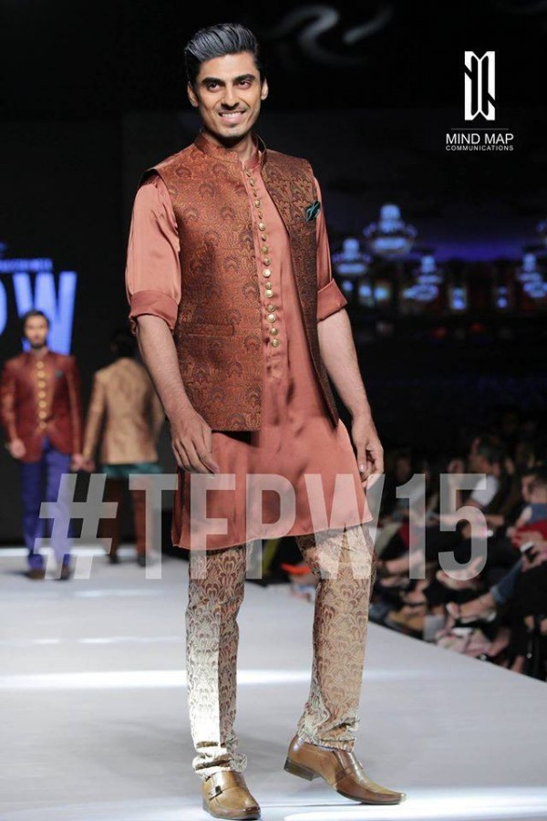 Fashion Dress Designer Aamir Adnan Stylish Wedding Groom Suits Pent-Coat-Kurta-Sherwani for Men by TFPW-3