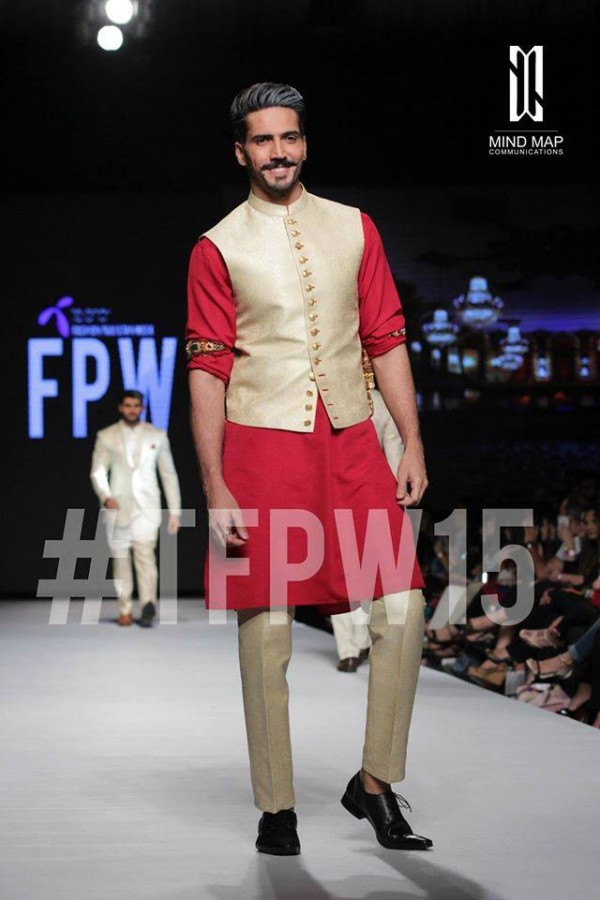 Fashion Dress Designer Aamir Adnan Stylish Wedding Groom Suits Pent-Coat-Kurta-Sherwani for Men by TFPW-6