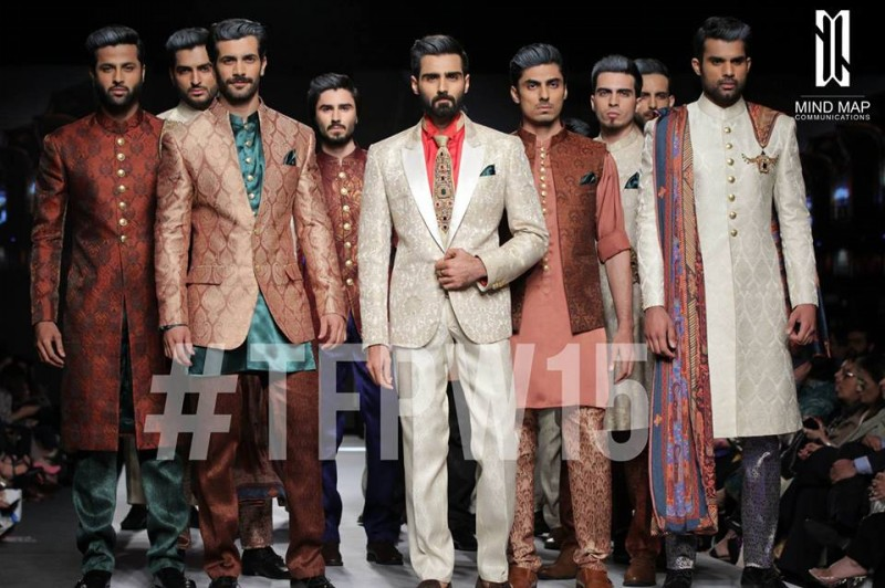 Fashion Dress Designer Aamir Adnan Stylish Wedding Groom Suits Pent-Coat-Kurta-Sherwani for Men by TFPW-