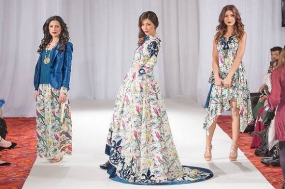 Gul Ahmed London Fashion Week 5 Western Dresses-1