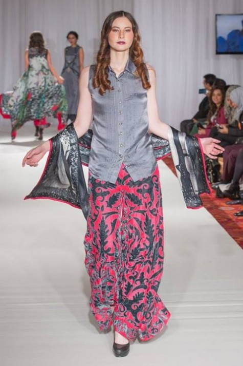 Gul Ahmed London Fashion Week 5 Western Dresses-2