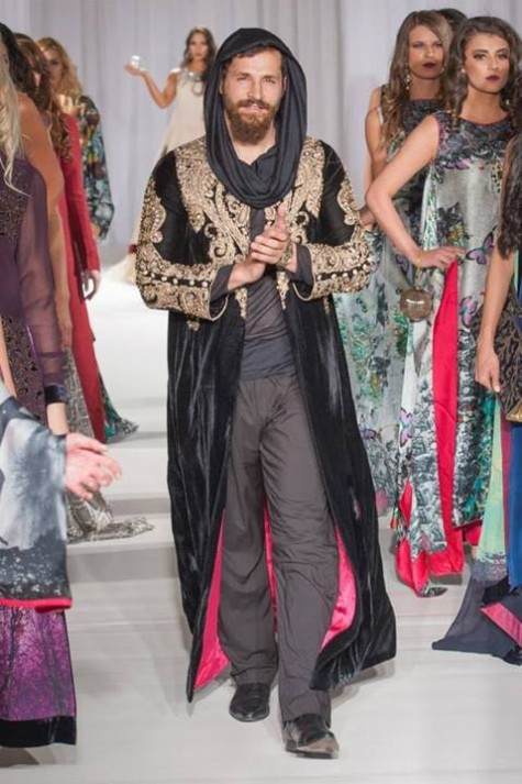 Gul Ahmed London Fashion Week 5 Western Dresses-3