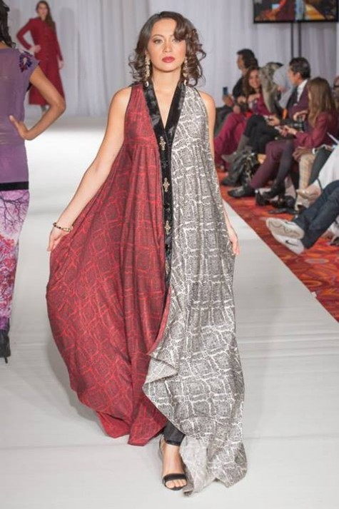 Gul Ahmed London Fashion Week 5 Western Dresses-4