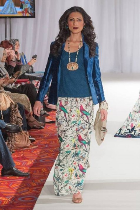 Gul Ahmed London Fashion Week 5 Western Dresses-5