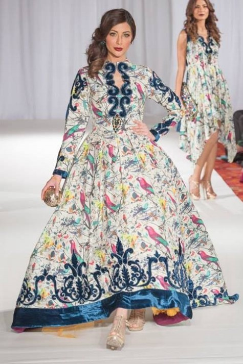 Gul Ahmed London Fashion Week 5 Western Dresses-6