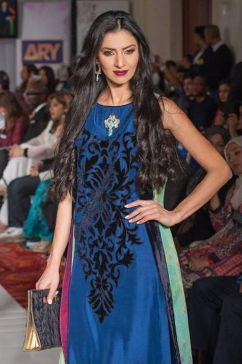 Gul Ahmed London Fashion Week 5 Western Dresses-8