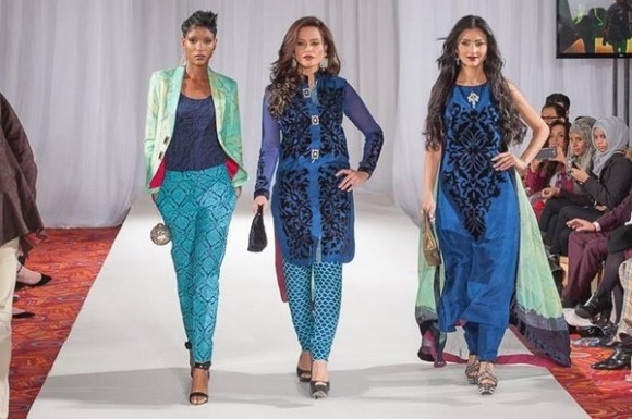 Gul Ahmed London Fashion Week 5 Western Dresses-
