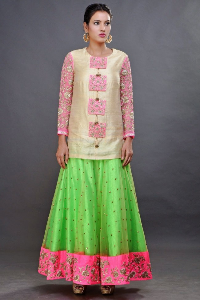 New Fashion Dress Designer Pooja Shroff Anarkali Churidar Salwar Kameez Designs-6