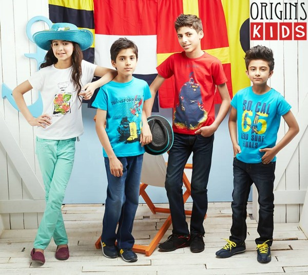 Origins Ready Made Stylish Summer-Spring Wear New Fashioable Outfits for Chids-Kids-1
