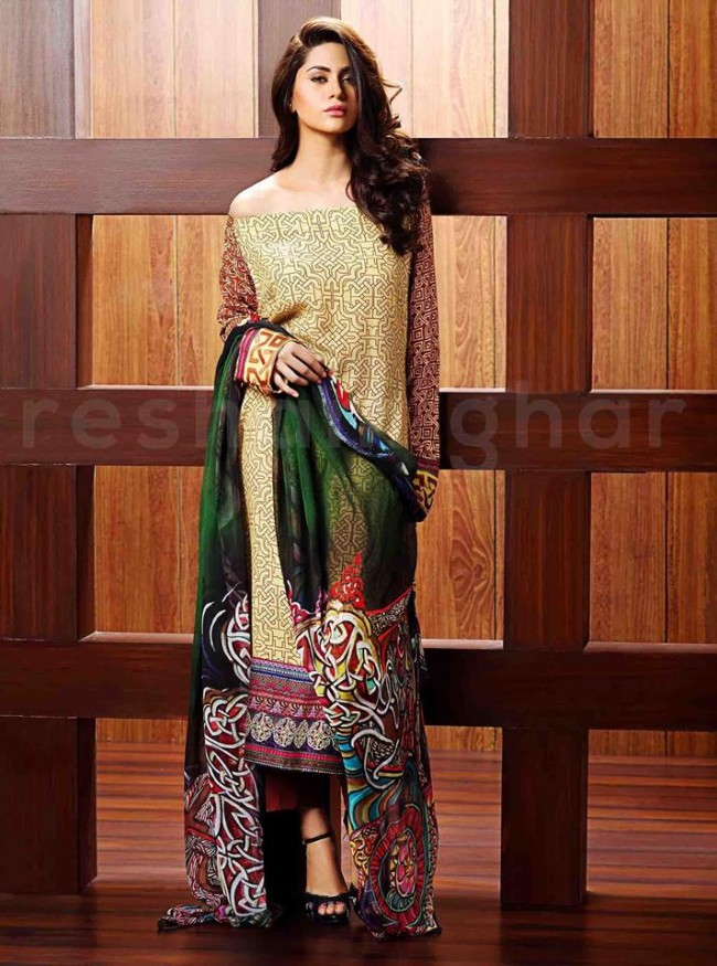 059cfb3cc4f0 Resham Ghar Latest Girls-Womens Wear Dresses 2015-16 New Fashion ...