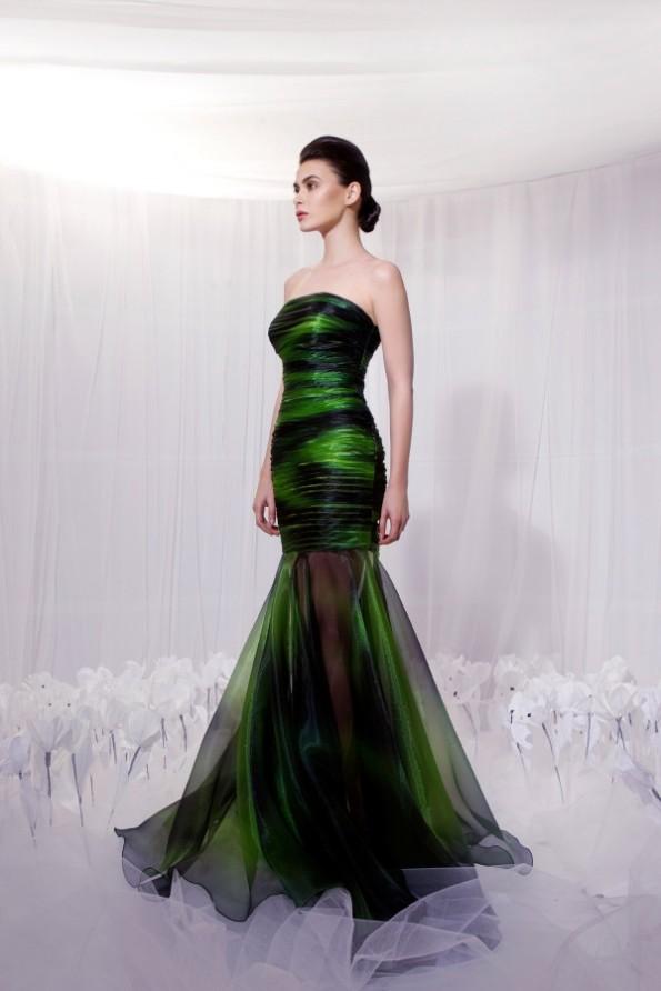 Tarek Sinno New Latest Long-Short Skirt Fashion Wear Dress For Girls-Women-10