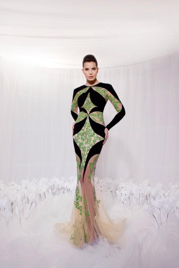 Tarek Sinno New Latest Long-Short Skirt Fashion Wear Dress For Girls-Women-8