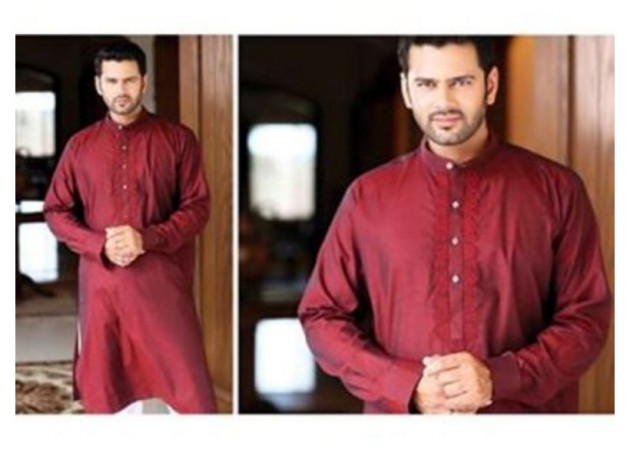AA Ali Fabric Men's Wear Cotton Shalwar Kameez Dress Design New Fashion Suits-1