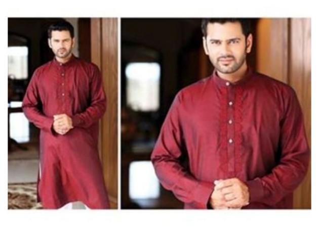 AA Ali Fabric Men's Wear Cotton Shalwar Kameez Dress Design New Fashion Suits-1