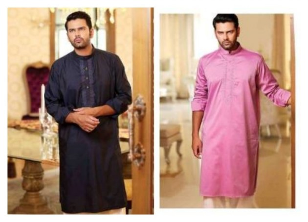 AA Ali Fabric Men's Wear Cotton Shalwar Kameez Dress Design New Fashion Suits-6