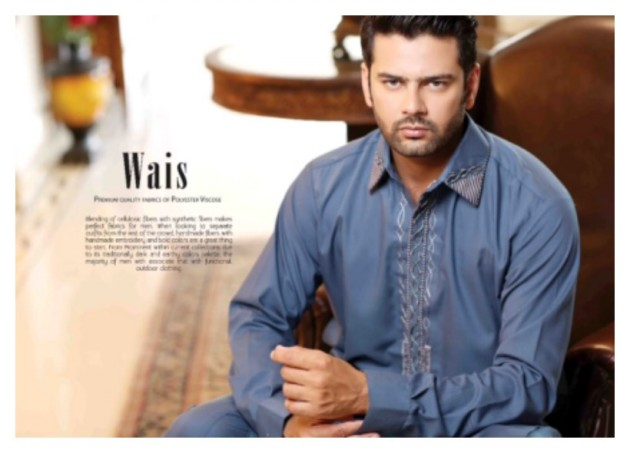 AA Ali Fabric Men's Wear Cotton Shalwar Kameez Dress Design New Fashion Suits-7