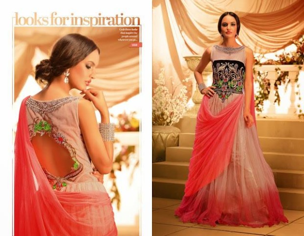 Beautiful Bridesmaid Drapes Maxi Gowns Catalog for Wedding-Bridal,Brides Wear Suits-1