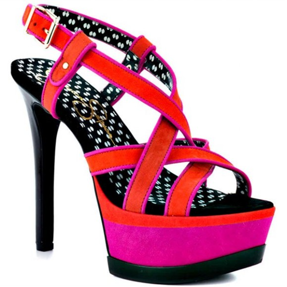 Jessica Simpson Latest Fashion of Long-High Heel Sandals-Footwear-Shoes For Girls-Ladies-1