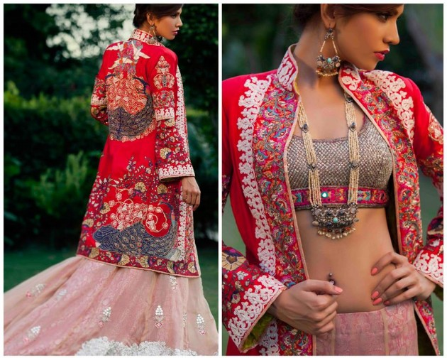 Kamiar Rokni Latest Wedding-Bridal Groom Pret Dress for Brides-Dulhan-1