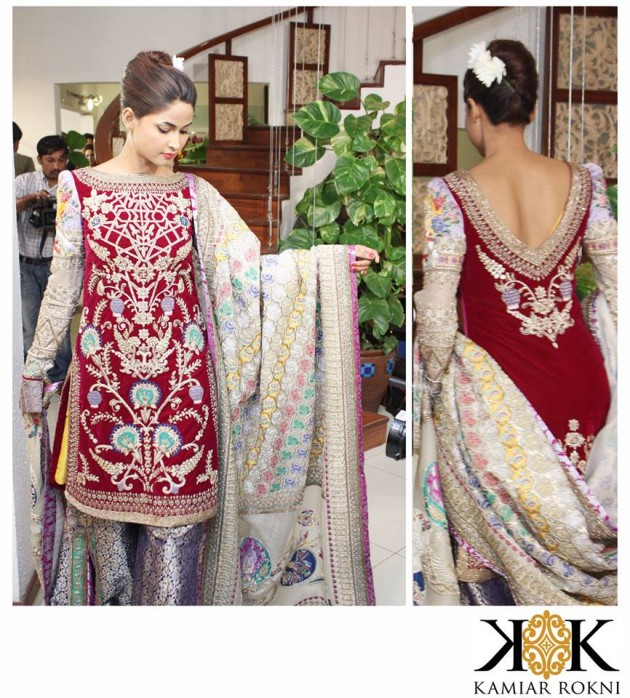 Kamiar Rokni Latest Wedding-Bridal Groom Pret Dress for Brides-Dulhan-10