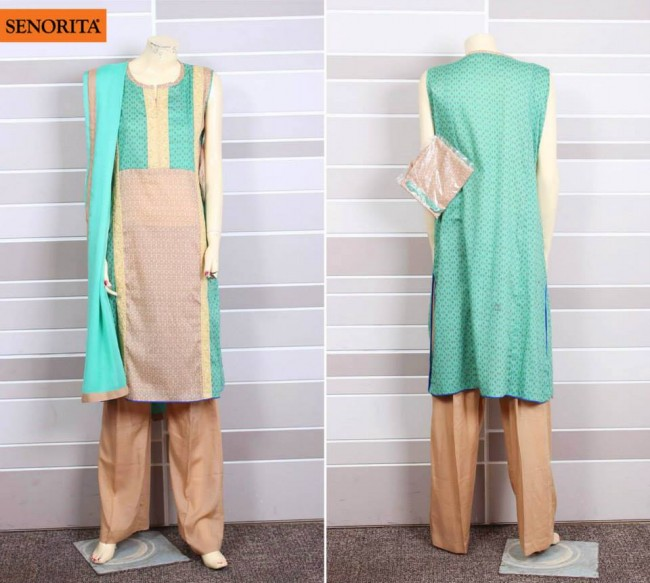 Senorita Summer Ready to Beautiful Girls Wear Shalwar Kameez New Fashion Suits-7