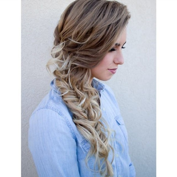 Trendy Curly-Layered-Stylish Best Hairstyle For Girls-Women Long-Medium-Short Hair Cuts-6