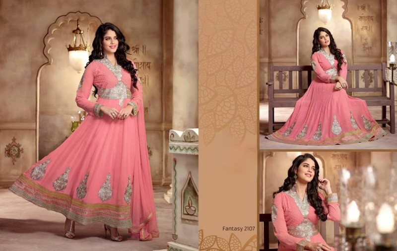 Saheli Couture Indo Western Style Anarkali Maxi Gown Frock Suits Design New Fashion-4