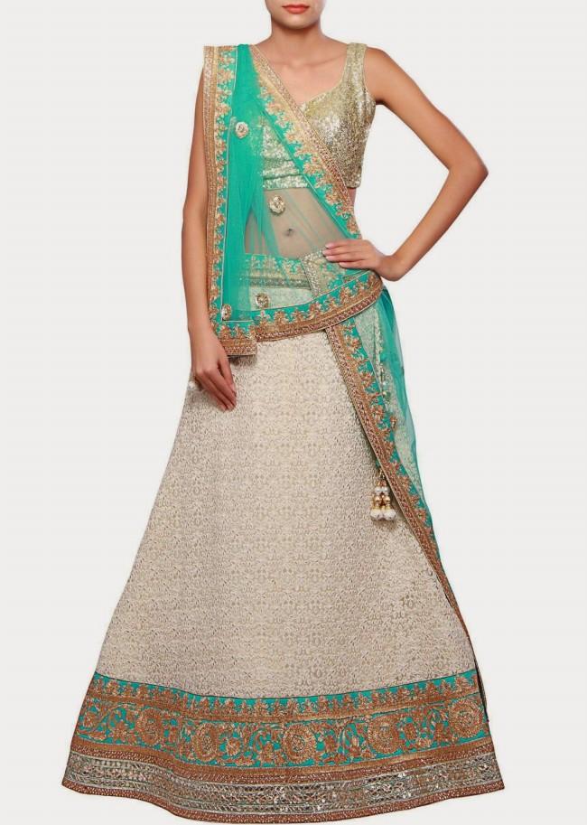 Wedding-Bridal Wear Lehanga-Sharara-Choli Suits by New Fashion Dress Designer-10