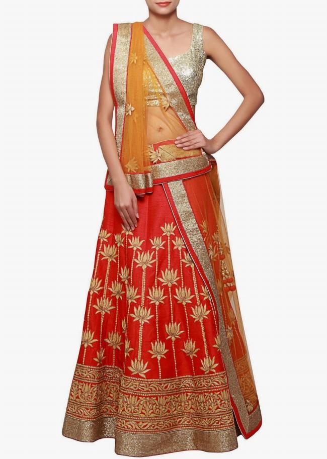 Wedding-Bridal Wear Lehanga-Sharara-Choli Suits by New Fashion Dress Designer-4