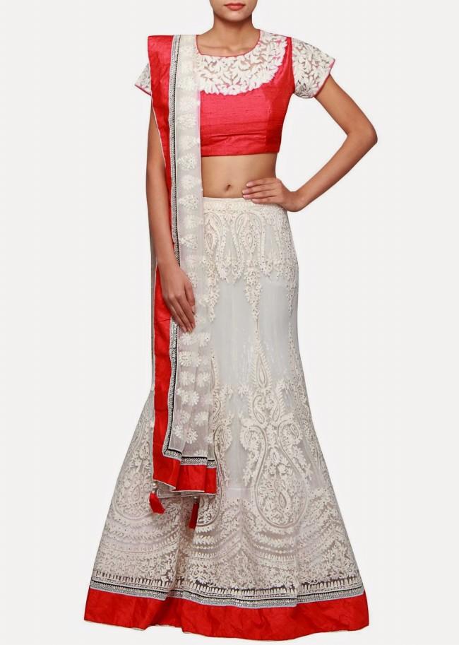 Wedding-Bridal Wear Lehanga-Sharara-Choli Suits by New Fashion Dress Designer-9