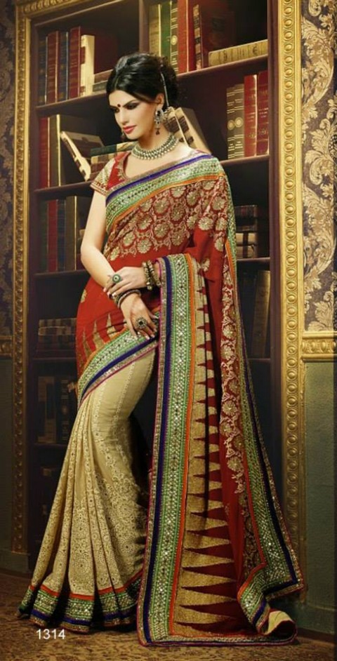 Beautiful Bridal-Wedding Wear Lehenga-Sharara-Choli Design New Fashion Dress-7