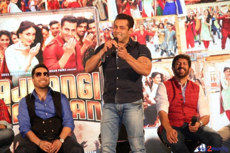 Salman Khan Indian-Bollywood Movie Bajrangi Bhaijaan Eid Special Song Launch HD Wallpapers-3
