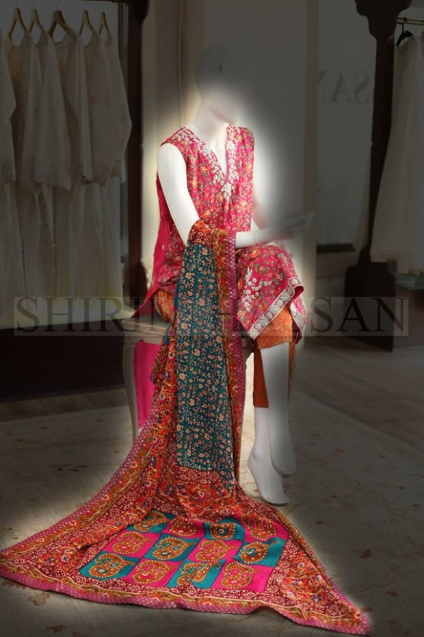 New Fashion Designer Shirin Hassan Wedding-Bridal Wear Dresses for Brides-Girls-Dulhan-2