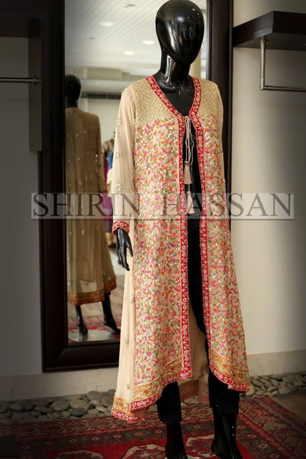 New Fashion Designer Shirin Hassan Wedding-Bridal Wear Dresses for Brides-Girls-Dulhan-3