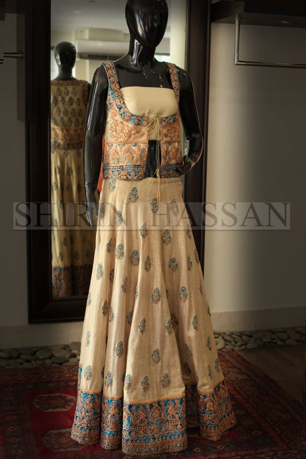 New Fashion Designer Shirin Hassan Wedding-Bridal Wear Dresses for Brides-Girls-Dulhan-4