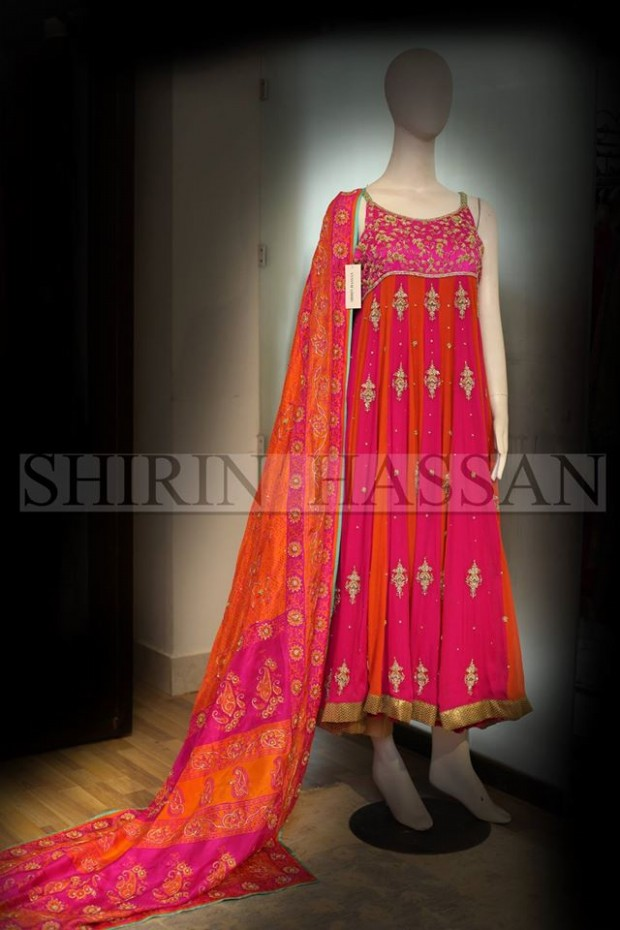 New Fashion Designer Shirin Hassan Wedding-Bridal Wear Dresses for Brides-Girls-Dulhan-5