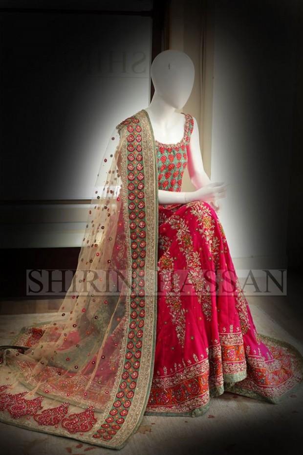 New Fashion Designer Shirin Hassan Wedding-Bridal Wear Dresses for Brides-Girls-Dulhan-7