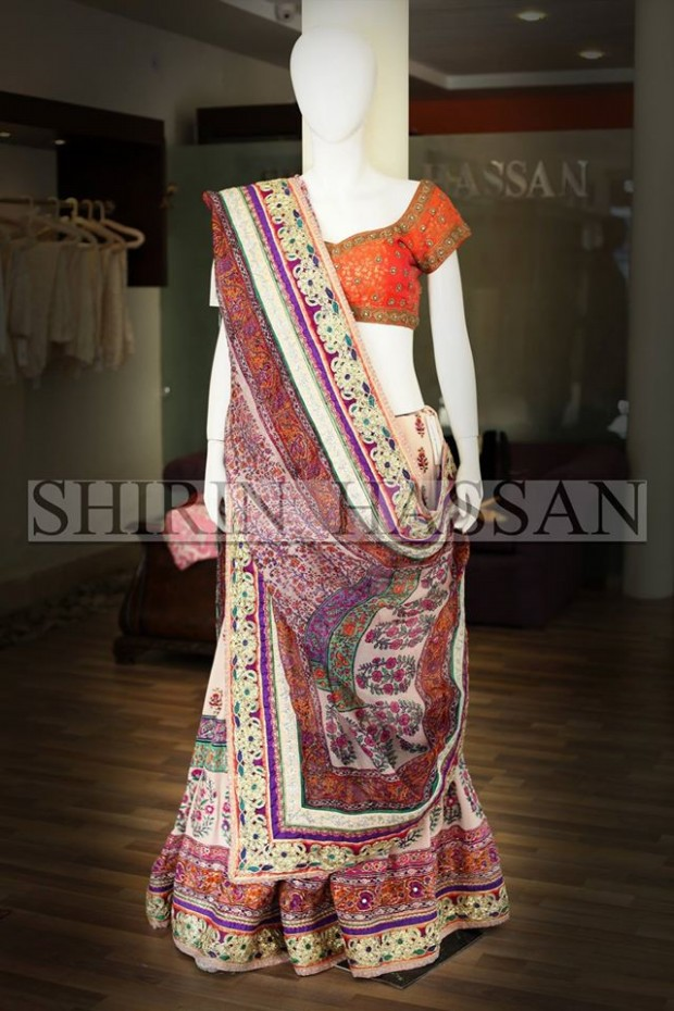 New Fashion Designer Shirin Hassan Wedding-Bridal Wear Dresses for Brides-Girls-Dulhan-8