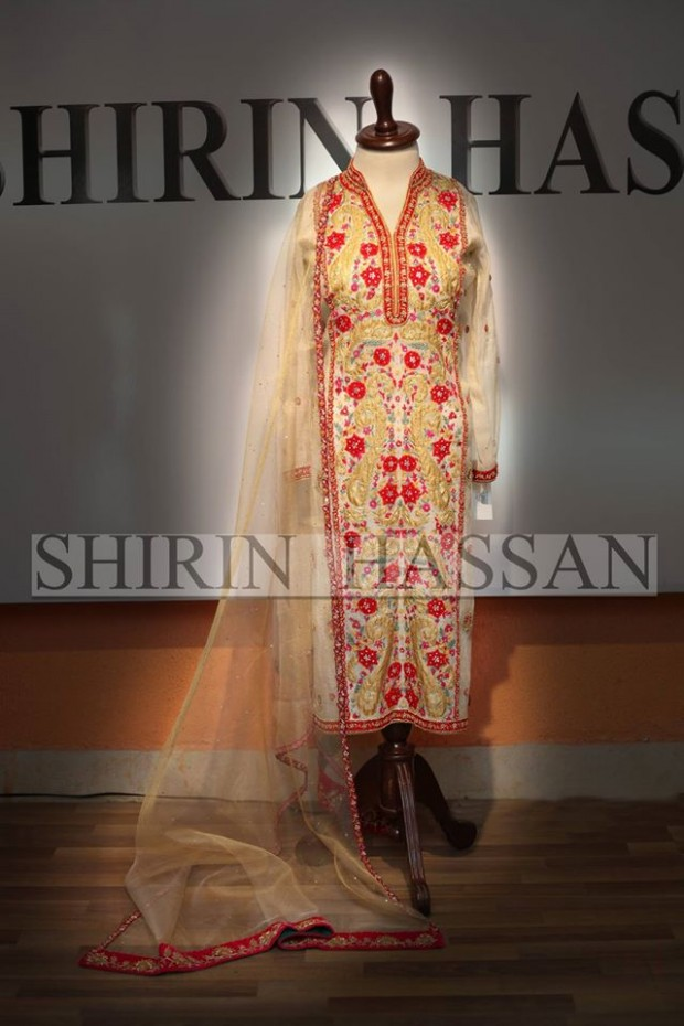 New Fashion Designer Shirin Hassan Wedding-Bridal Wear Dresses for Brides-Girls-Dulhan-9