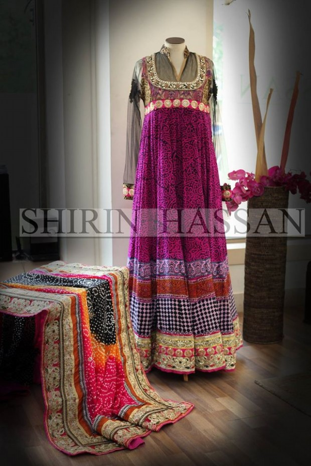 New Fashion Designer Shirin Hassan Wedding-Bridal Wear Dresses for Brides-Girls-Dulhan-