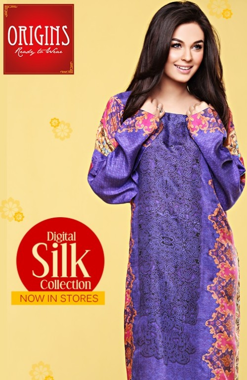 Origins Ready to Wear New Summer Fashionable Eid Dress for Girls-6