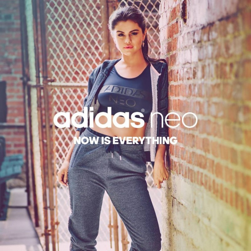 Selena Gomez Adidas Neo Fall-Winter 2015 Collection Photoshoot-Wallpapers-3