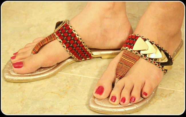 Triangles Shoes-Footwear Design for Teen-Young Girls New Fashion Sandal-2