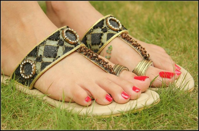 Triangles Shoes-Footwear Design for Teen-Young Girls New Fashion Sandal-4