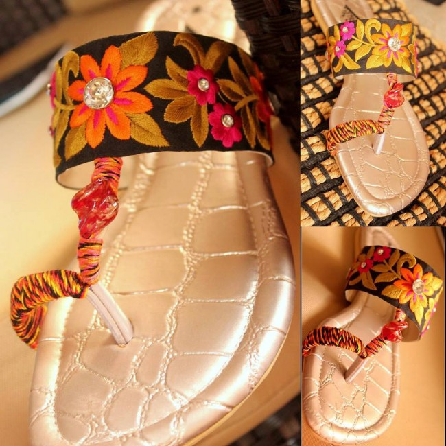 Triangles Shoes-Footwear Design for Teen-Young Girls New Fashion Sandal-8