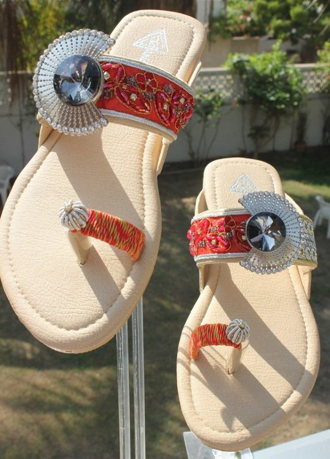 Triangles Shoes-Footwear Design for Teen-Young Girls New Fashion Sandal-9