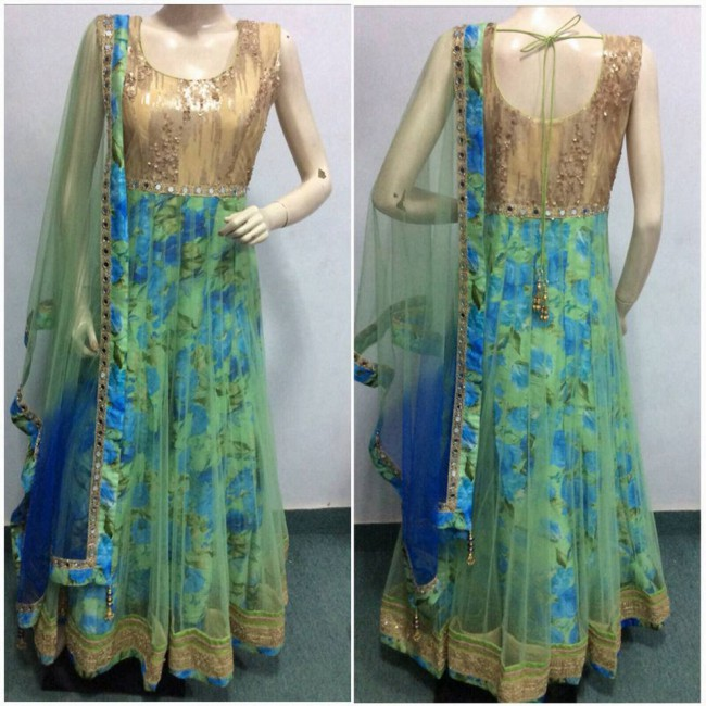 Indo Western Designer Wedding-Bridal Wear Suits New Fashion Dress-2