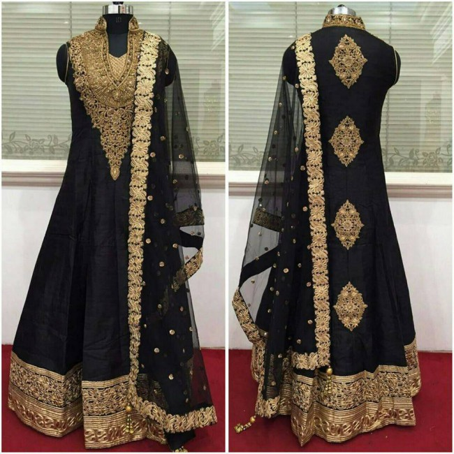 Indo Western Designer Wedding-Bridal Wear Suits New Fashion Dress-3